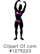 Royalty-Free (RF) Bodybuilder Clipart Illustration #1275223