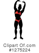 Royalty-Free (RF) Bodybuilder Clipart Illustration #1275224