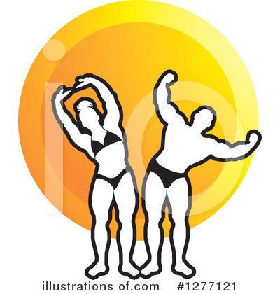 Bodybuilder Clipart #1277121 by Lal Perera