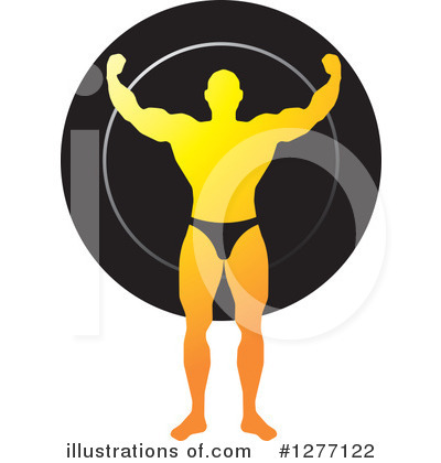 Bodybuilder Clipart #1277122 by Lal Perera