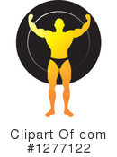 Royalty-Free (RF) Bodybuilder Clipart Illustration #1277122