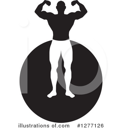 Bodybuilder Clipart #1277126 by Lal Perera