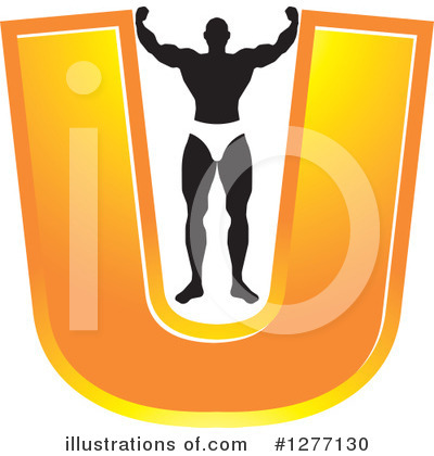 Bodybuilder Clipart #1277130 by Lal Perera