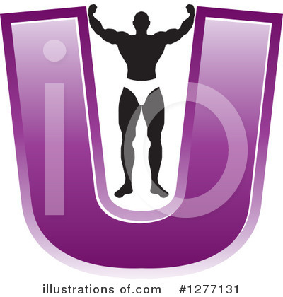 Bodybuilder Clipart #1277131 by Lal Perera
