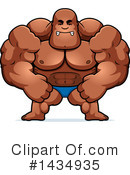 Bodybuilder Clipart #1434935 by Cory Thoman