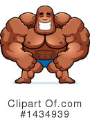 Bodybuilder Clipart #1434939 by Cory Thoman