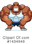 Bodybuilder Clipart #1434949 by Cory Thoman
