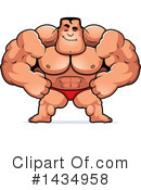 Bodybuilder Clipart #1434958 by Cory Thoman