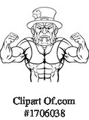 Bodybuilder Clipart #1706038 by AtStockIllustration
