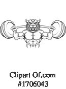 Bodybuilder Clipart #1706043 by AtStockIllustration