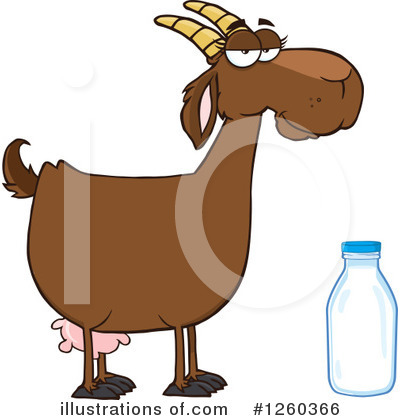 Boer Goat Clipart #1260366 by Hit Toon