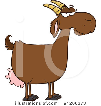 Boer Goat Clipart #1260373 by Hit Toon