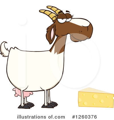 Boer Goat Clipart #1260376 by Hit Toon