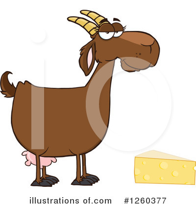 Boer Goat Clipart #1260377 by Hit Toon