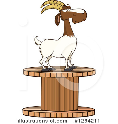 Goat Clipart #1264211 by Hit Toon