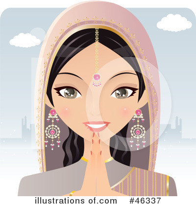 Indian Clipart #46337 by Melisende Vector