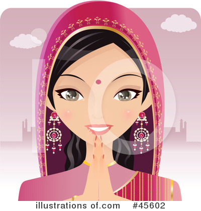 Indian Clipart #45602 by Melisende Vector