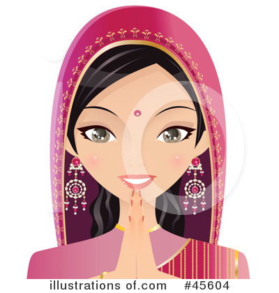 Indian Clipart #45604 by Melisende Vector
