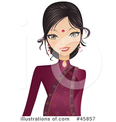 Indian Clipart #45857 by Melisende Vector