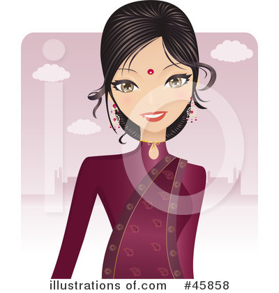 Girl Clipart #45858 by Melisende Vector