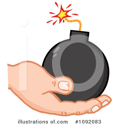 Terrorist Clipart #1092083 by Hit Toon
