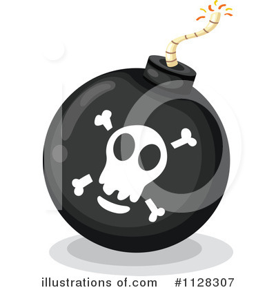 Bomb Clipart #1128307 by Graphics RF
