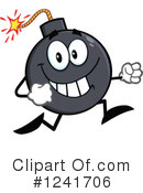 Royalty-Free (RF) Bomb Clipart Illustration #1241706