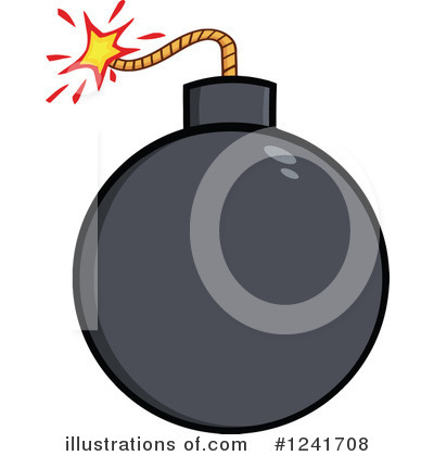 Bomb Clipart #1241708 by Hit Toon