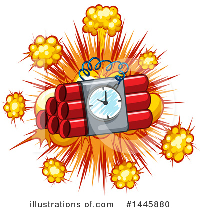 Explosion Clipart #1445880 by Graphics RF