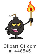 Royalty-Free (RF) Bomb Clipart Illustration #1448545