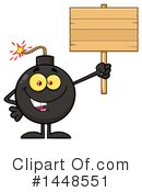 Bomb Clipart #1448551 by Hit Toon