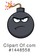 Royalty-Free (RF) Bomb Clipart Illustration #1448558