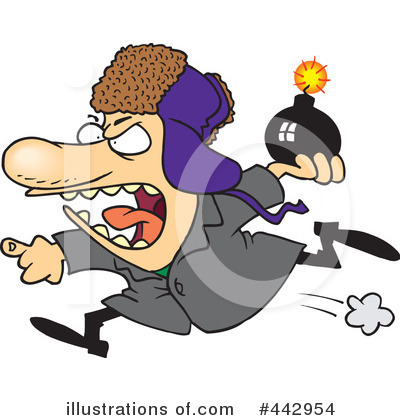 Terrorist Clipart #442954 by toonaday
