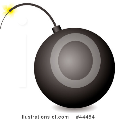 Bomb Clipart #44454 by michaeltravers