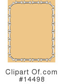 Royalty-Free (RF) Bones Clipart Illustration #14498
