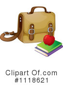 Royalty-Free (RF) Book Bag Clipart Illustration #1118621