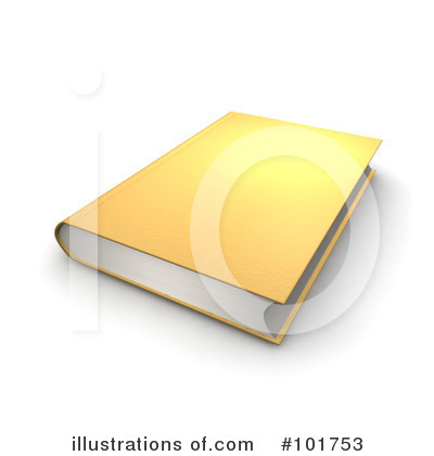 Royalty-Free (RF) Book Clipart Illustration by Jiri Moucka - Stock Sample #101753