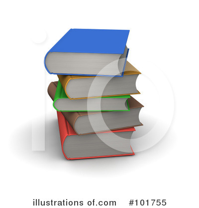 Book Clipart #101755 by Jiri Moucka