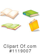Book Clipart #1119007 by Graphics RF