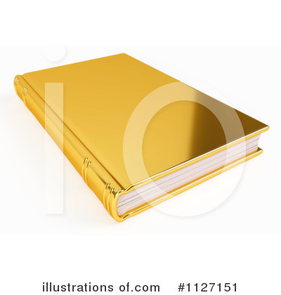 Book Clipart #1127151 by Leo Blanchette