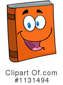 Book Clipart #1131494 by Hit Toon