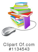 Royalty-Free (RF) Book Clipart Illustration #1134543