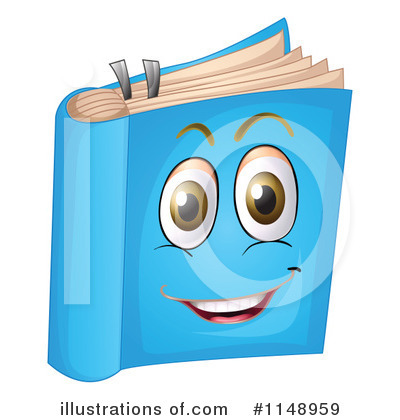 Book Clipart #1148959 by Graphics RF