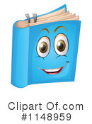 Royalty-Free (RF) Book Clipart Illustration #1148959