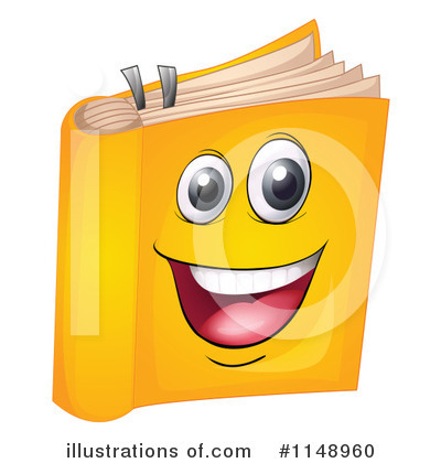 Book Clipart #1148960 by Graphics RF