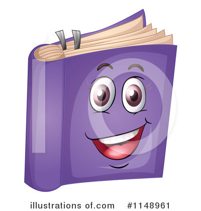 Book Clipart #1148961 by Graphics RF