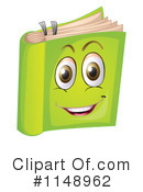 Royalty-Free (RF) Book Clipart Illustration #1148962