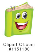 Book Clipart #1151180 by Graphics RF