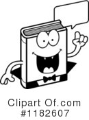 Book Clipart #1182607 by Cory Thoman
