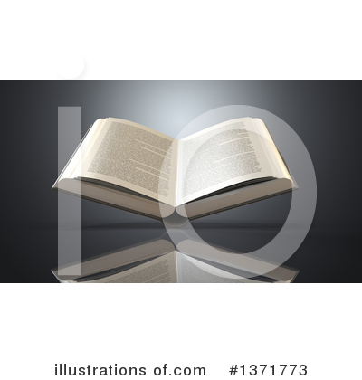 Book Clipart #1371773 by Julos